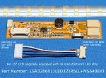 LSR3206011LED1R5L+MS640EXT, For 15