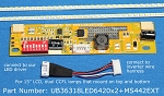 UB36318LED6420X2+MS442EXT for 15