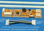 UB54220LED5620X2+MS610UB+80 for 10.4 inch LCD screen