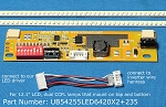 UB54255LED6420X2+235 for 12.1 inch LCD screens
