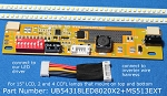 UB54318LED8020X2+MS513EXT for 15