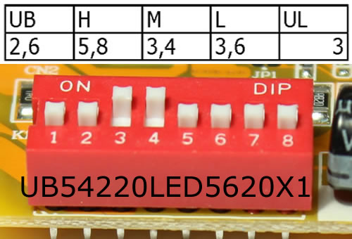 Ub54220led5620x1 For 10 4 Quot Lcd Screens