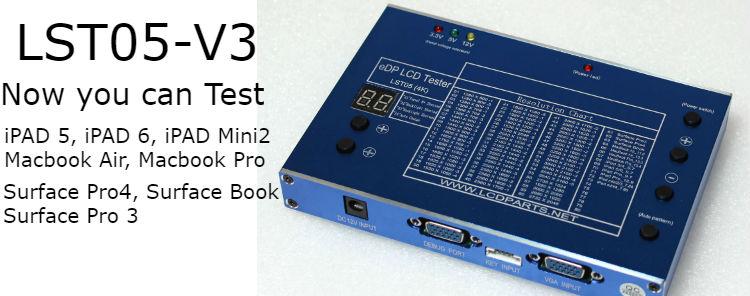 Lst05 V3 Edp Lcd Screen Tester