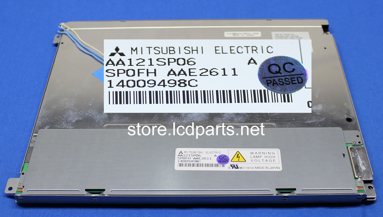 "NEW AA121SP06 for Mitsubishi 12.1 /""800 x 600 LCD panel 90 days warranty"