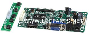 MS639LC, Build-in HDMI and VGA LCD controller board