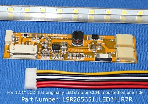 "LSR2656511LED241R7R, For 12.1"" LCD Screen, 1300 nits"