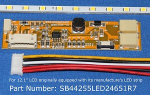 "SB44255LED24651R7, For 12.1"" LCD originally equipped with LED backlight, 1300 nits"