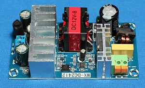 MS636PW, 12V, DC, 8A Power Supply