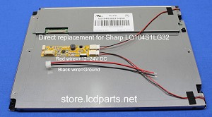 "10.4"" 1000 nit Direct replacement for Sharp, Mitsubishi,  MS104RSBDF1420D4+DISENA"