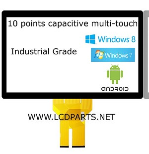 "MS101CAPW1610, 10.1"" Capacitive 10 points multi-touch"